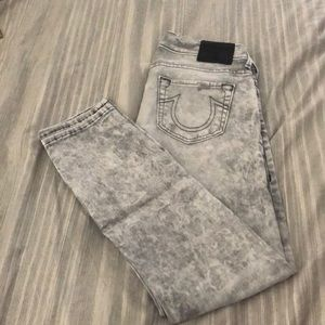 True Religion low rise relaxed skinny jean